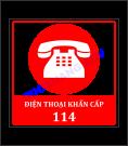 Biển báo số điện thoại khẩn